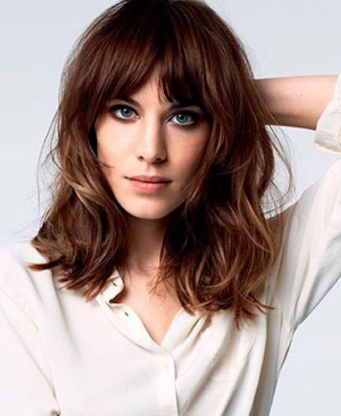 20 Different Long Bob with Bangs