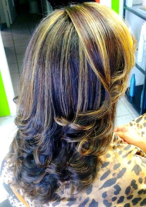 20 Best Hair Color Ideas For Chunky Highlights