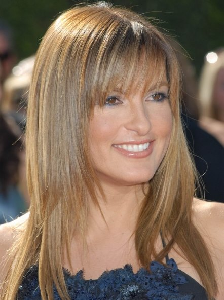 20 Long Layered Haircuts With Bangs