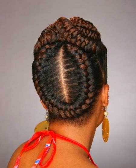 french braids styles black hair 15 braid hairstyles for black hair 6205 | goddess braids styles 2015