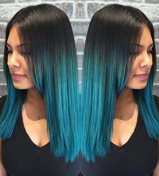 15 Blue Ombre Hairstyles For Women