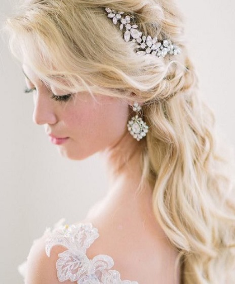 10 Glamorous Half Up Half Down Wedding Hairstyles From: 20 Best Half Up And Half Down Wedding Hairstyles