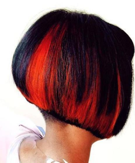 Hair Styles Ideas Hairstyles Red Highlights