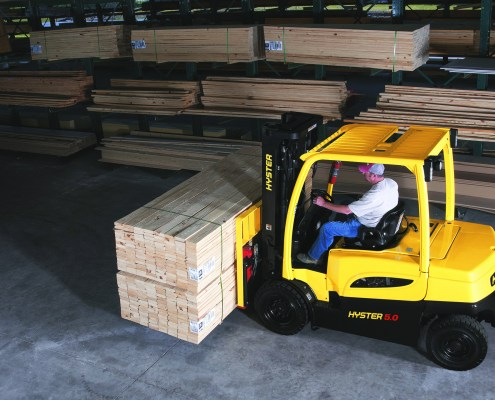 Electric counterbalance forklifts