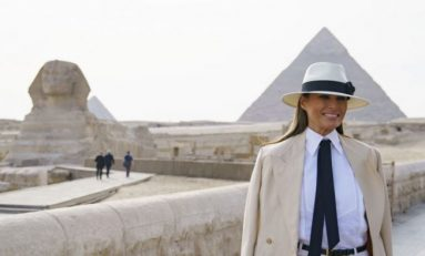 US First Lady in Cairo on Final Leg of Africa Trip