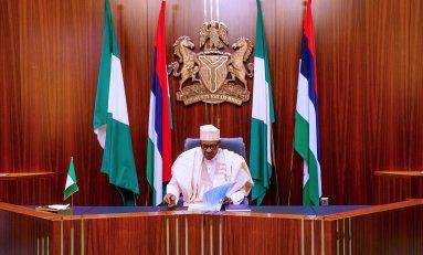 Buhari's 2021 New Year Message