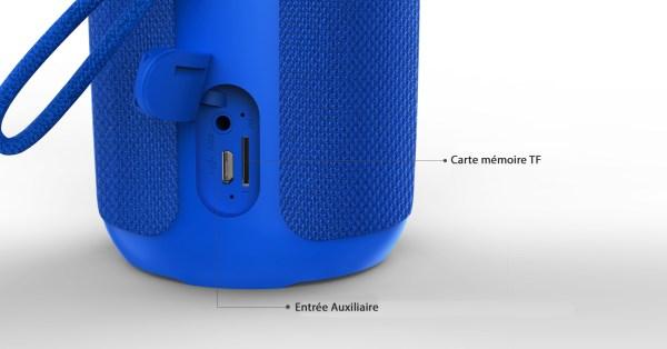 AU ASK01-021 RM Oroad-010 Enceinte_haut-parleur_Bluetooth_portable