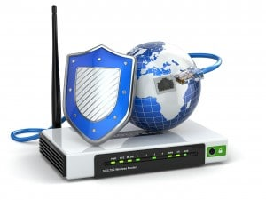Shielded Router