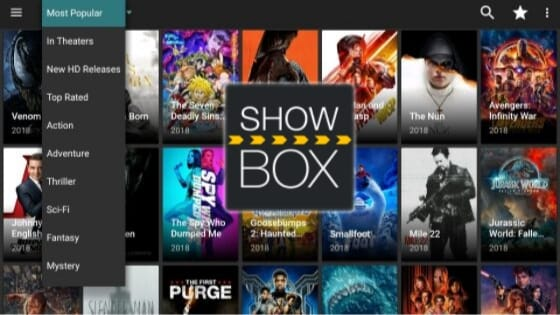 Showbox For Android : Download Latest APK Version For