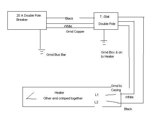 Baseboard Heater Wiring