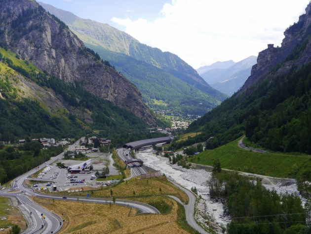 гора Мон-Блан Альпы Франция