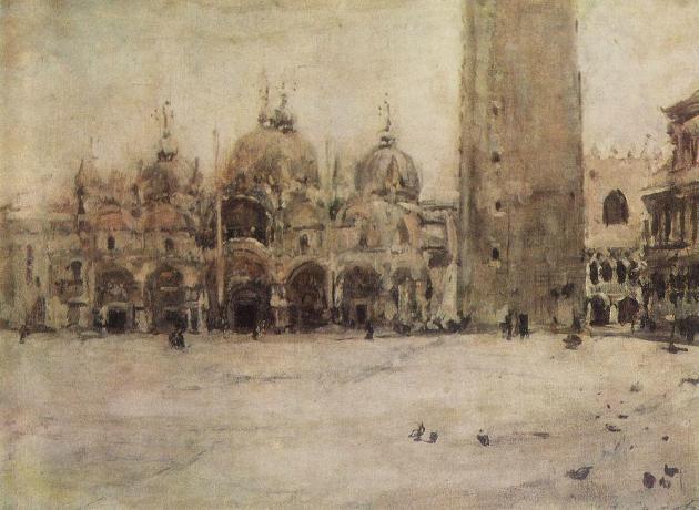 Валентин Серов Площадь Святого Марка