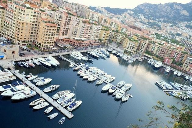 Монако. Вид от Королевского дворца