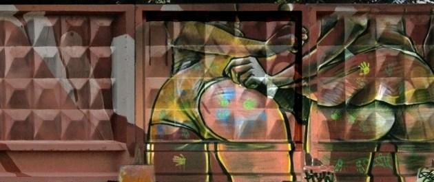 """Граффити в рамках фестиваля """"Длинные истории Екатеринбурга"""""""