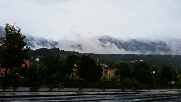 Альпы. Инсбрук