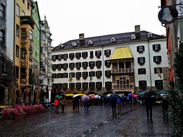 дом с золотой крышей Инсбрук