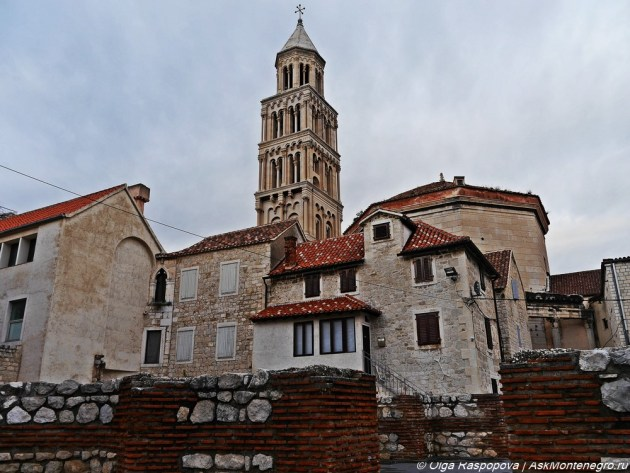 колокольня собора святого дуйе
