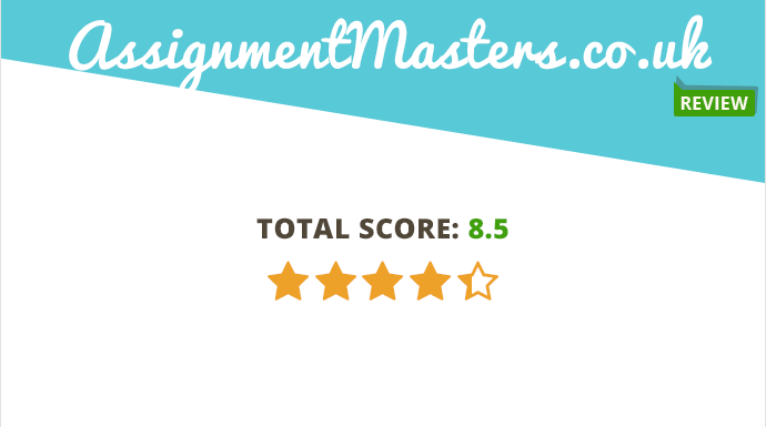 assignmentmasters co uk review total 8 5 10