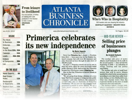Atlanta Business Journal - July 09, 2010