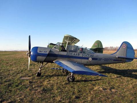 Самолеты Рыбинского авиаклуба
