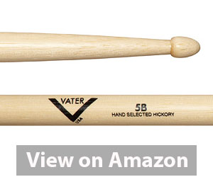Best Drumsticks - Vater Hickory Drum Stick 5B Review