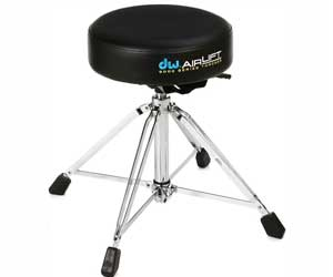 Drum Workshop CP9100AL 9000 Series Heavy Duty Air-lift Throne w/ Round Seat Review
