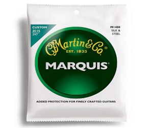 Martin M1400 Marquis Silk & Steel Folk Acoustic Strings, Light Review
