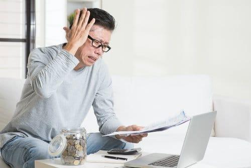 401(k) losing money
