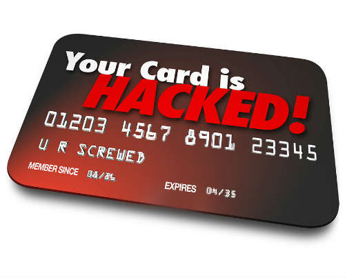 hacked credit card