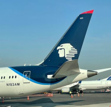 Aeromexico Tail 1024x915 - Going South