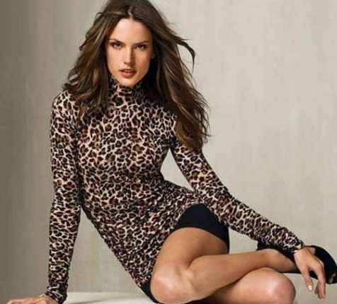Leopar Desenli Elbise Modelleri