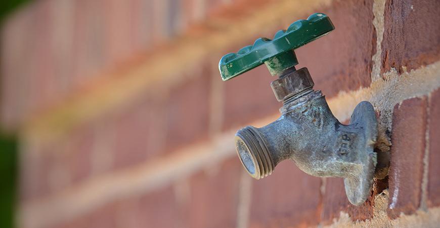 outdoor faucet repair problem leaks