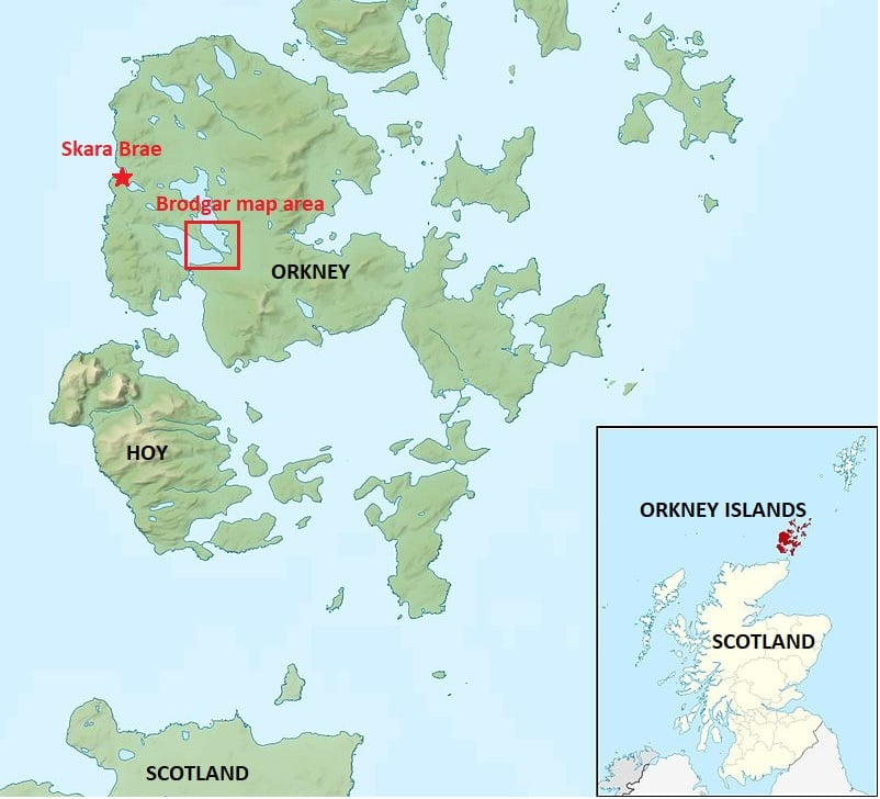 Orkney maps