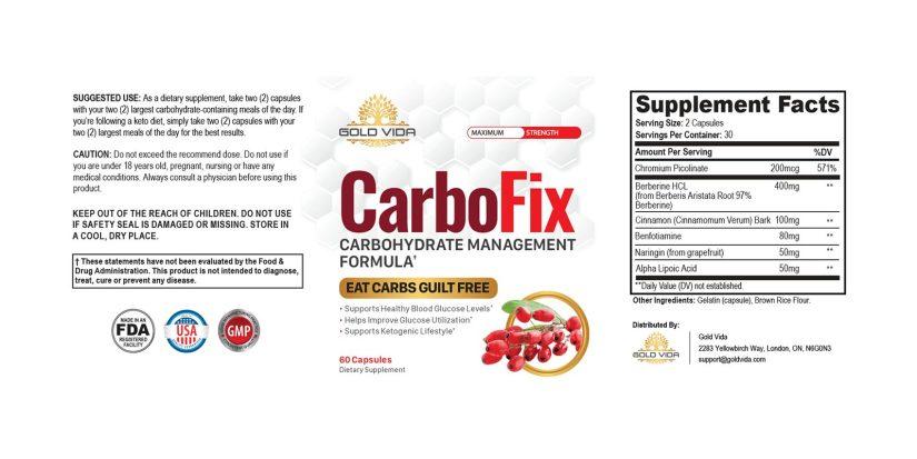 CarboFix dosage
