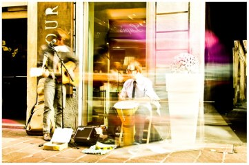 Busking in Busto