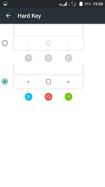 ZTE V5 Pro - Buttons