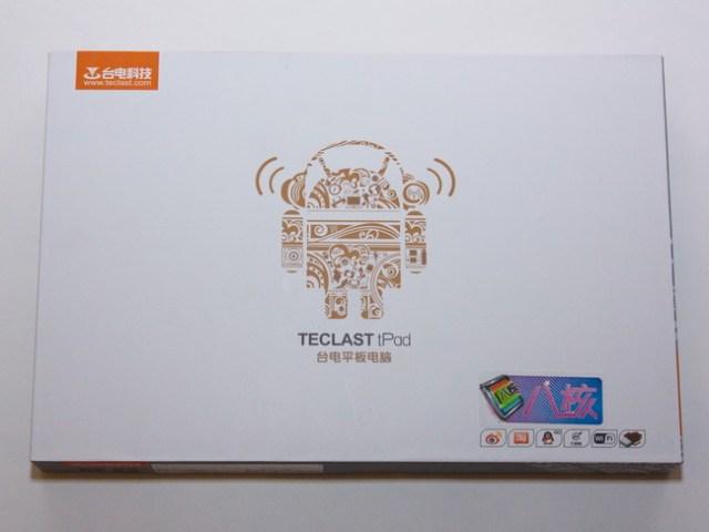 Teclast P98 - Box