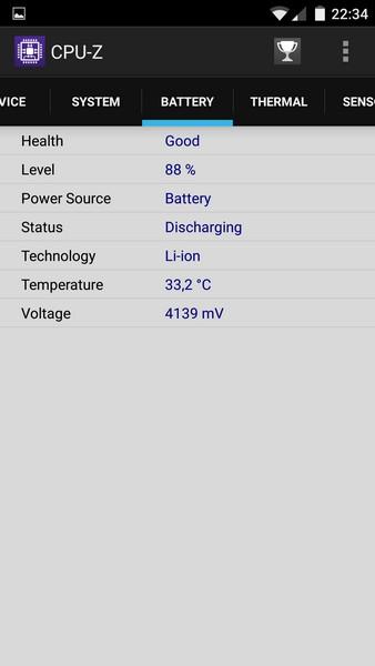 OnePlus X - CPU-Z 4