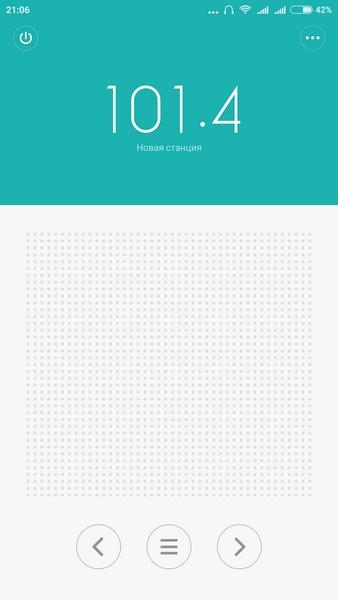 Xiaomi Redmi Note 3 - FM tuner
