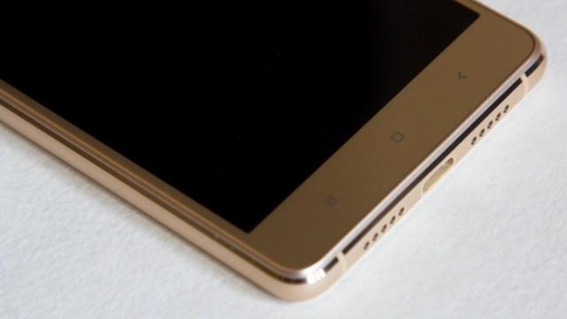 Xiaomi Mi4s - Face down side