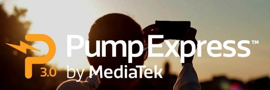 Технология быстрой зарядки MediaTek Pump Express 3.0