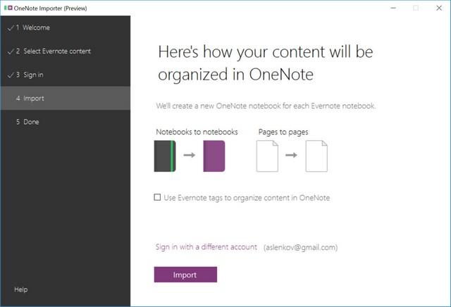Evernote To OneNote - 05