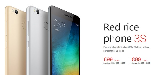 Xiaomi Redmi 3s - 02