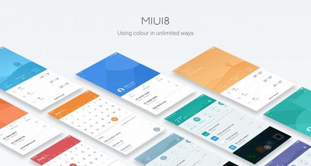 MIUI8 Interface