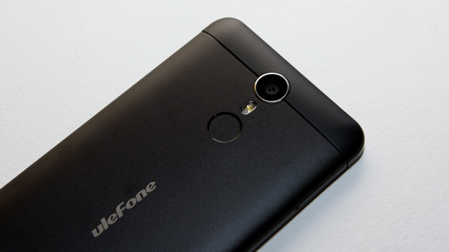 Ulefone Metal Review - Up back side