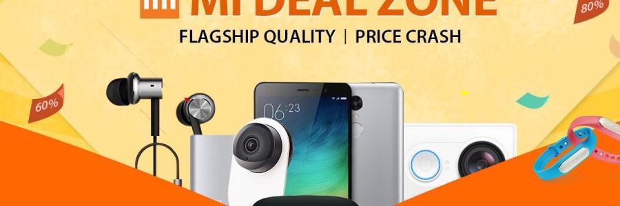 Новые купоны на смартфоны Xiaomi от GearBest