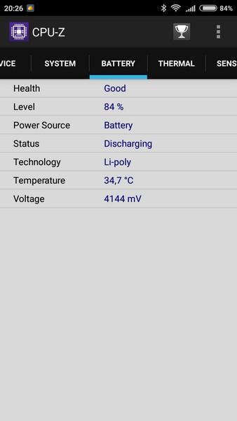 Xiaomi Redmi 3S Review - CPU-Z