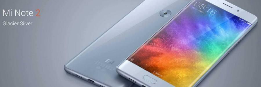 Xiaomi Mi Note 2 — официальная презентация