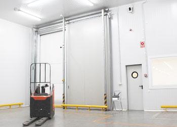 portes industrielles coupe-feu
