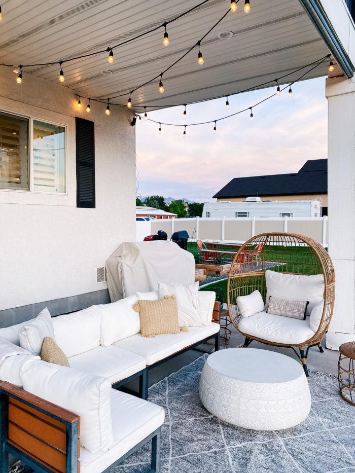 white outdoor cushions utah life and